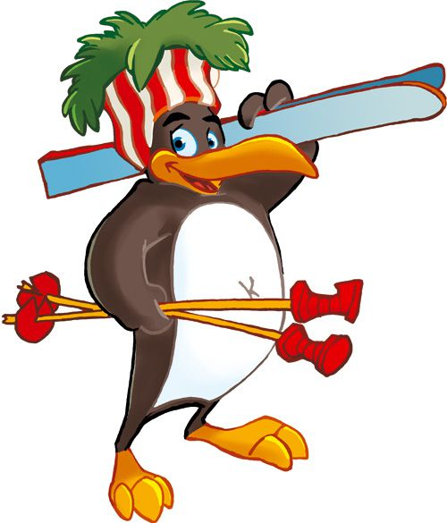 Pinguin BOBO's KINDER-CLUB© | Mit Freude Skifahren lernen