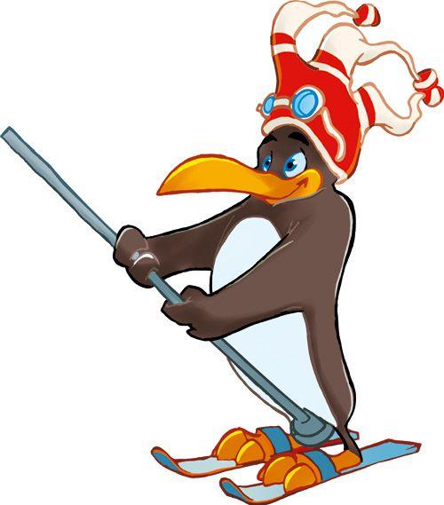 Pinguin BOBO's KINDER-CLUB© | Pinguin BOBO fährt Tellerlift