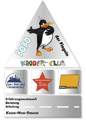 Pinguin BOBO's KINDER-CLUB© | Philosophie