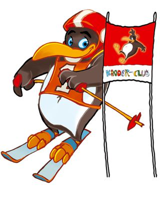 Pinguin BOBO's KINDER-CLUB© | Torlauf mit BOBO dem Pinguin